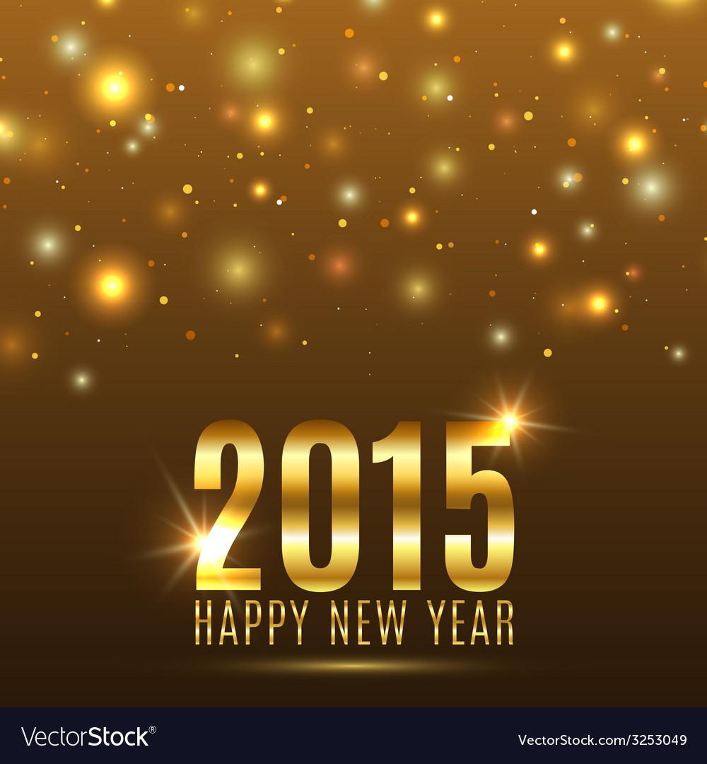 Happy new year 2015 celebration background vector
