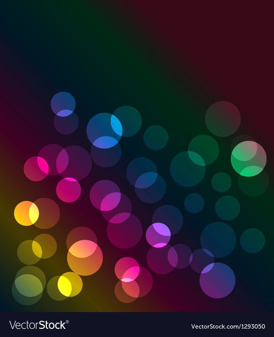 Neon lights graphic design abstract background vector