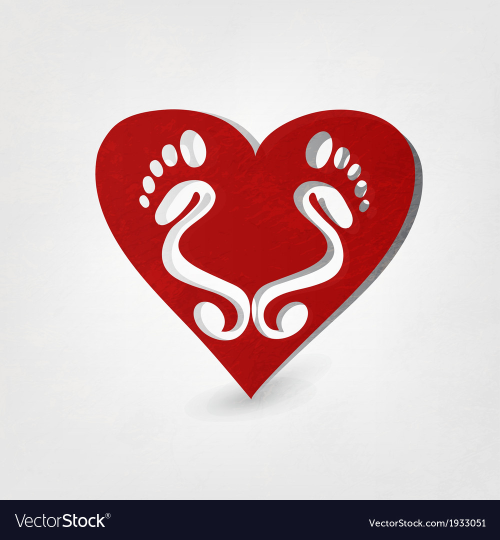 Traces of love vector