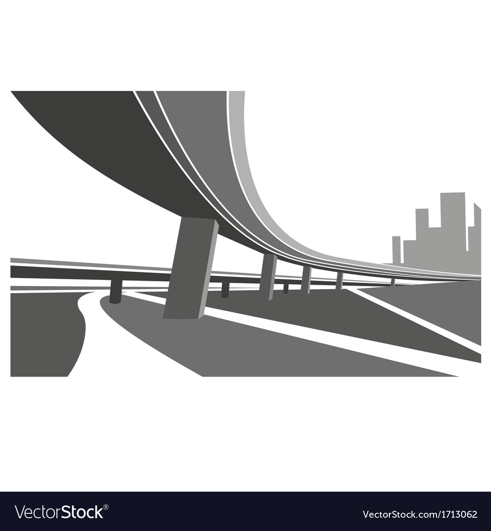 Road abstract background vector