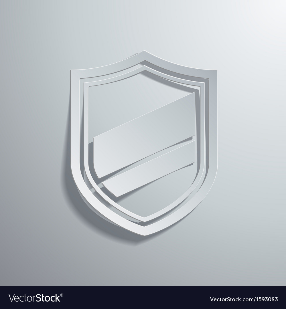 Shield vector