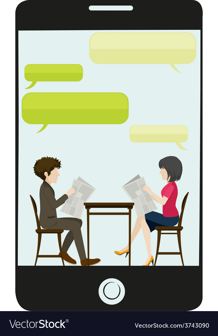 A business meeting vector