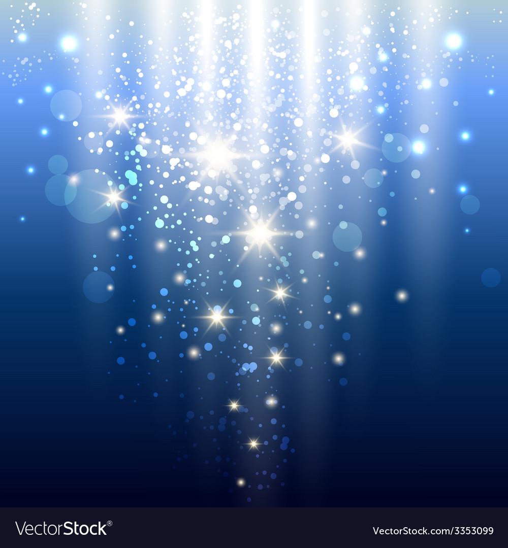 Blue lights vector