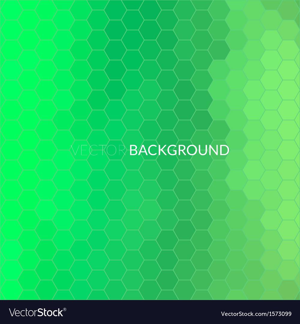 Digital hexagon pixel mosaic background vector