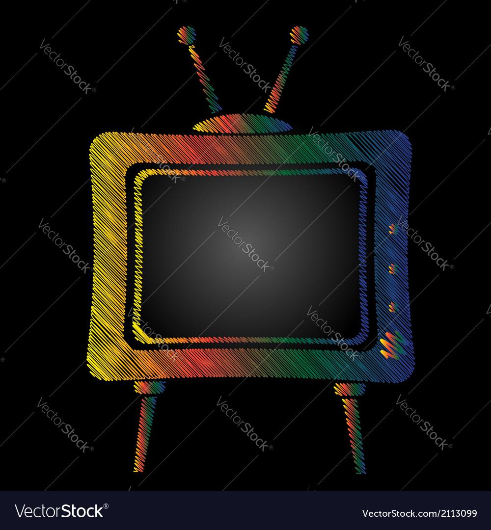 Television vector