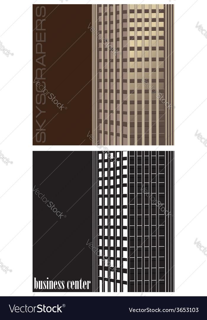 Skyscraper vector