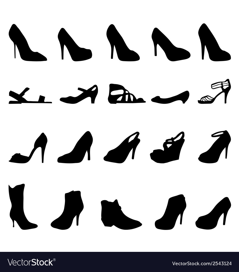 Shoes 2 vector