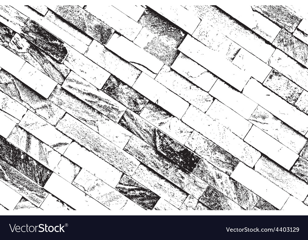 Decorative brickwall vector