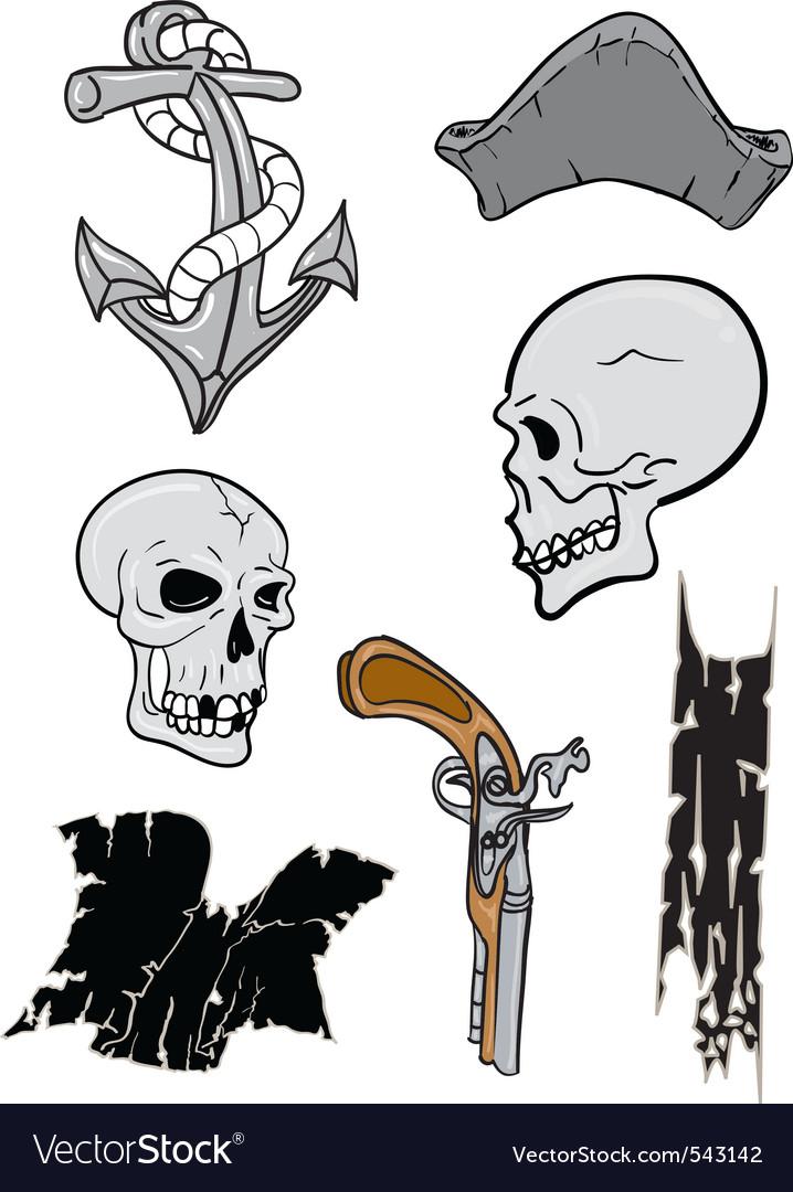 Pirates bounty vector