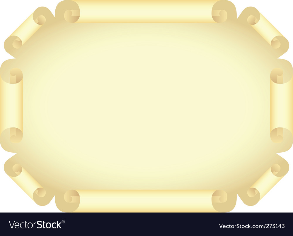Stylized old document vector