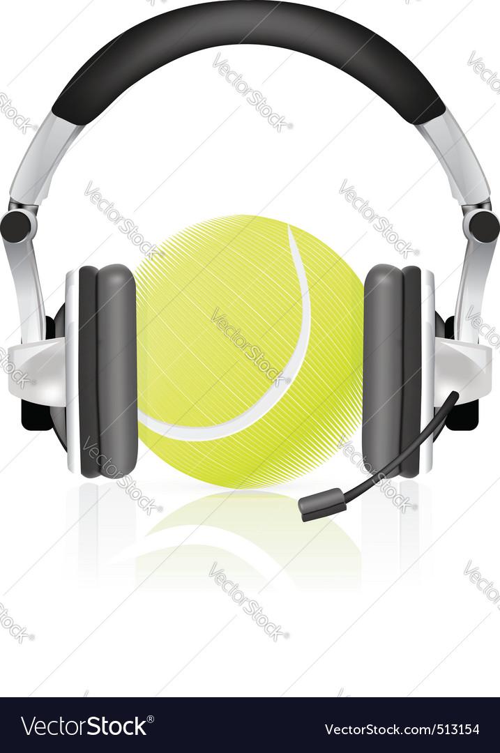 Tennis concept vector