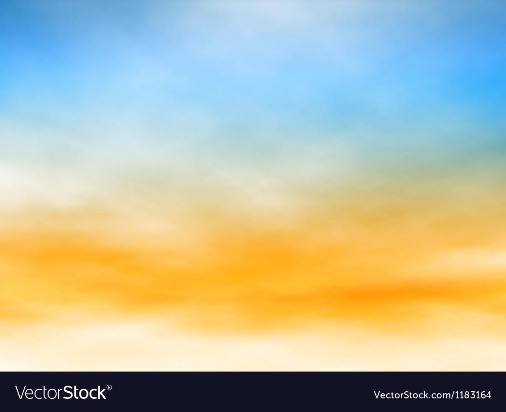 Light sky vector