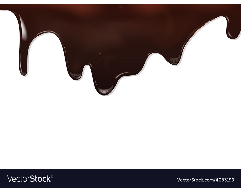 Chocolate background eps 10 vector