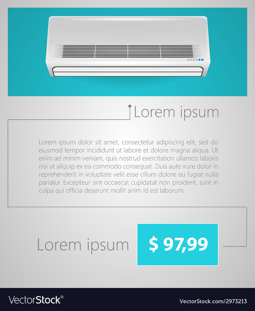 Flat minimalist template business design air vector