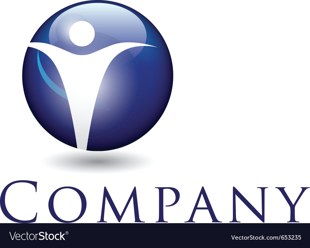 Beautiful corporate emblem design template for you vector
