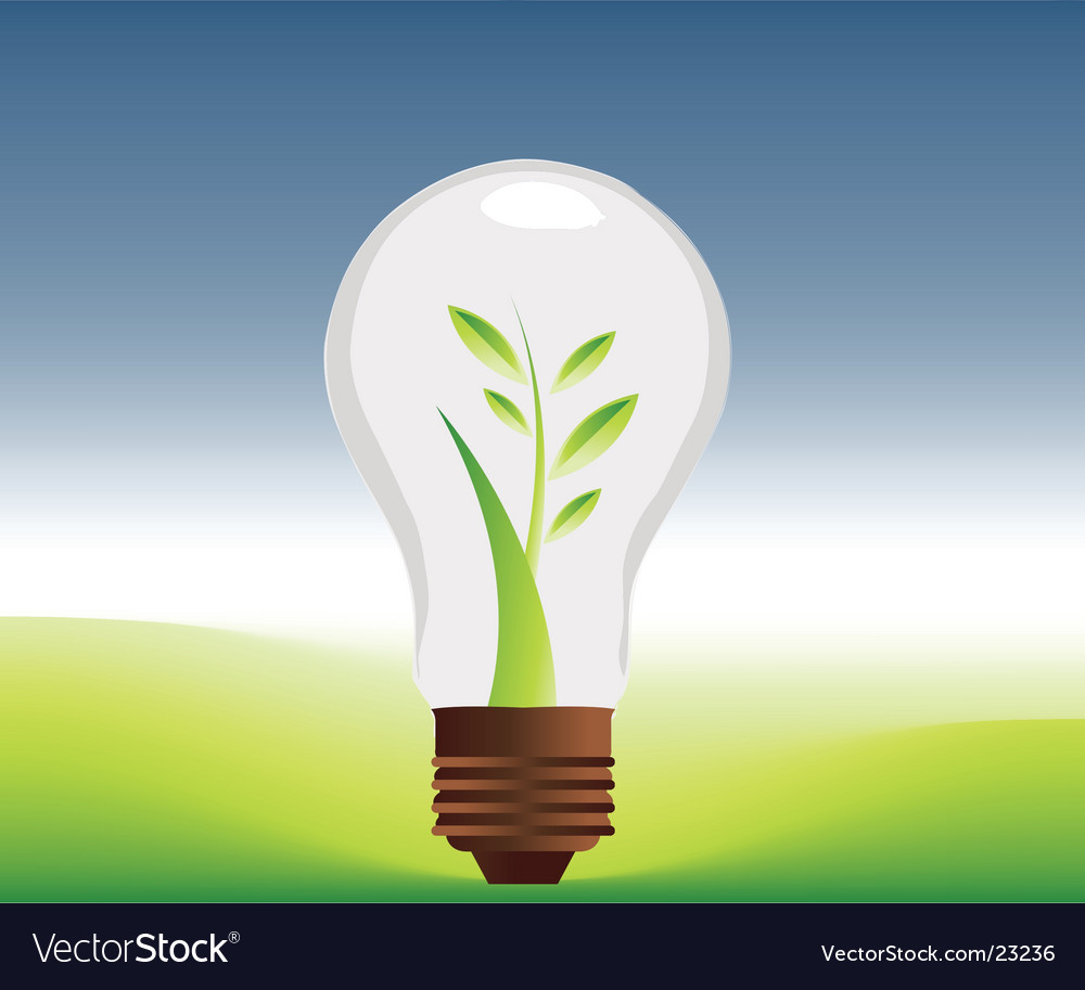 Ideas land vector