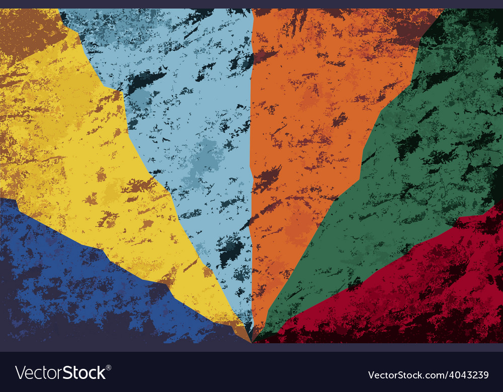 Abstract grunge bacground vector
