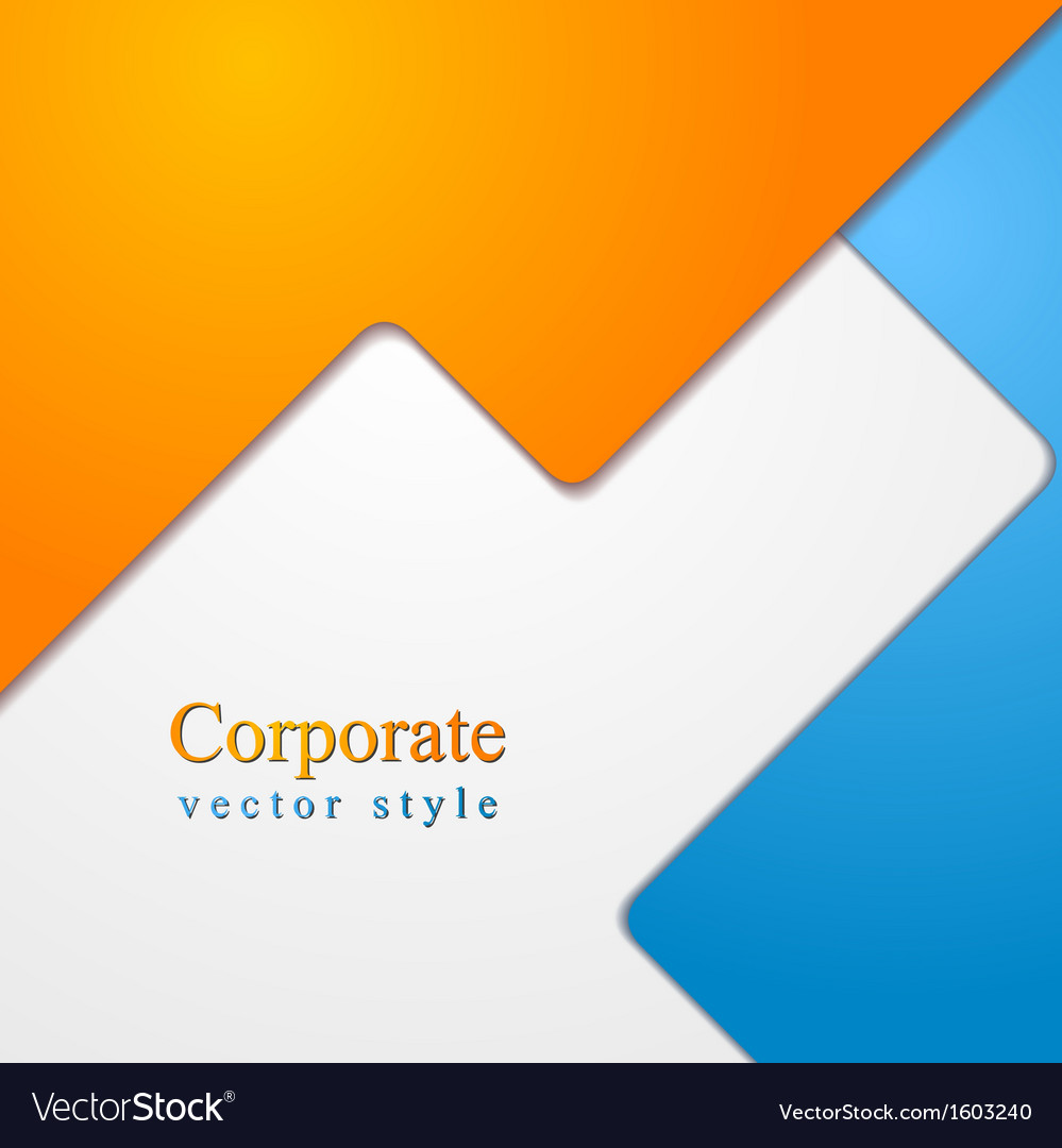 Colourful abstract elegant design vector