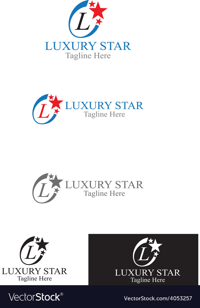 Luxury star vector