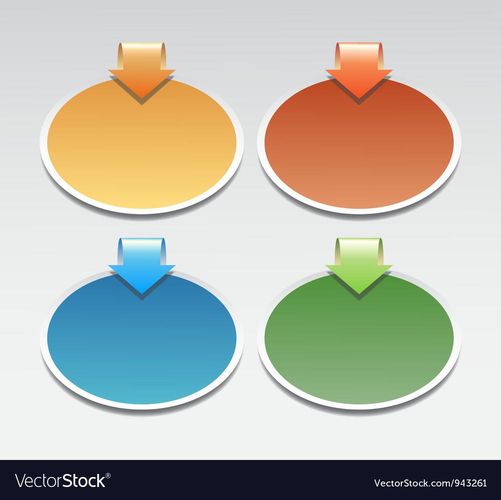 Sticker vector