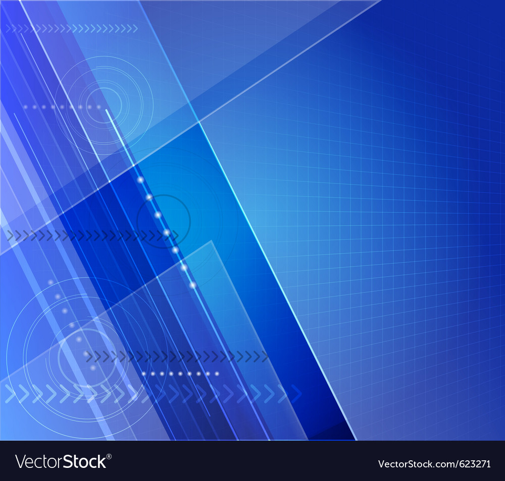 Stylized futuristic background with digital symbol vector
