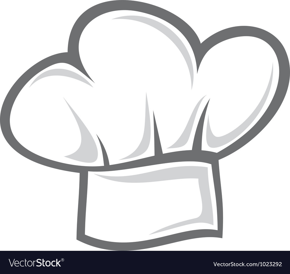 Chef hat vector