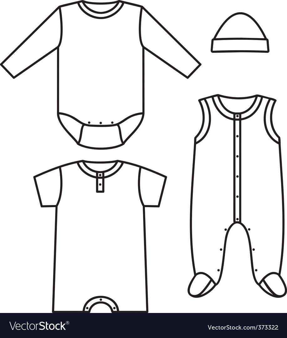 Child wear vector