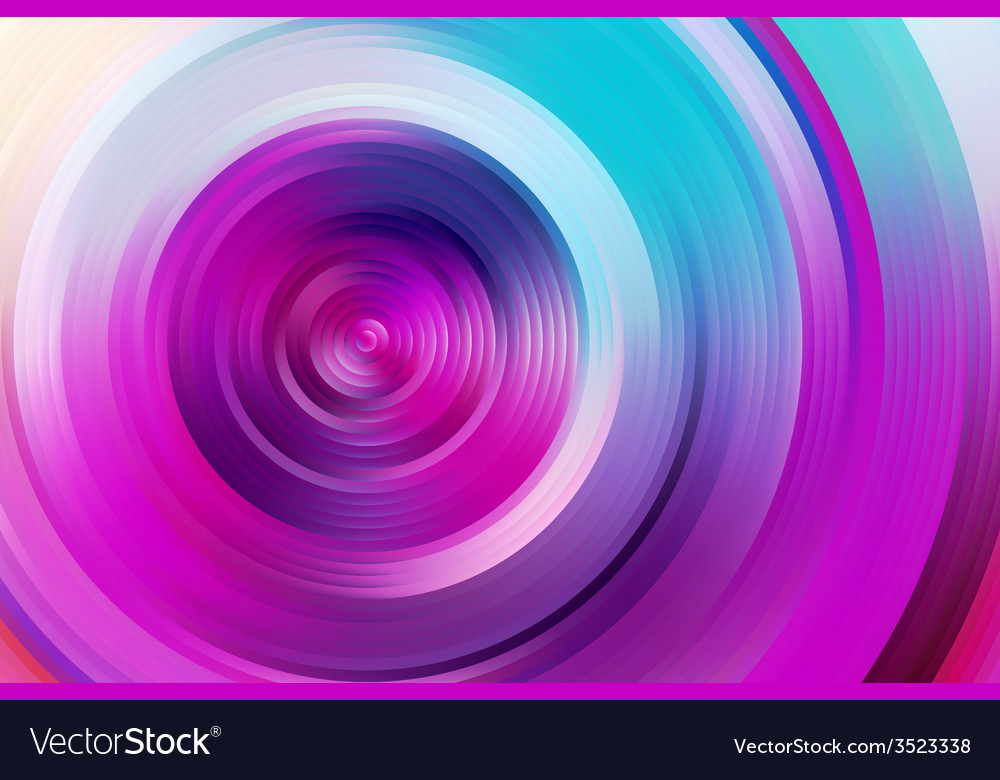 Abstract rainbow spiral colorful background vector