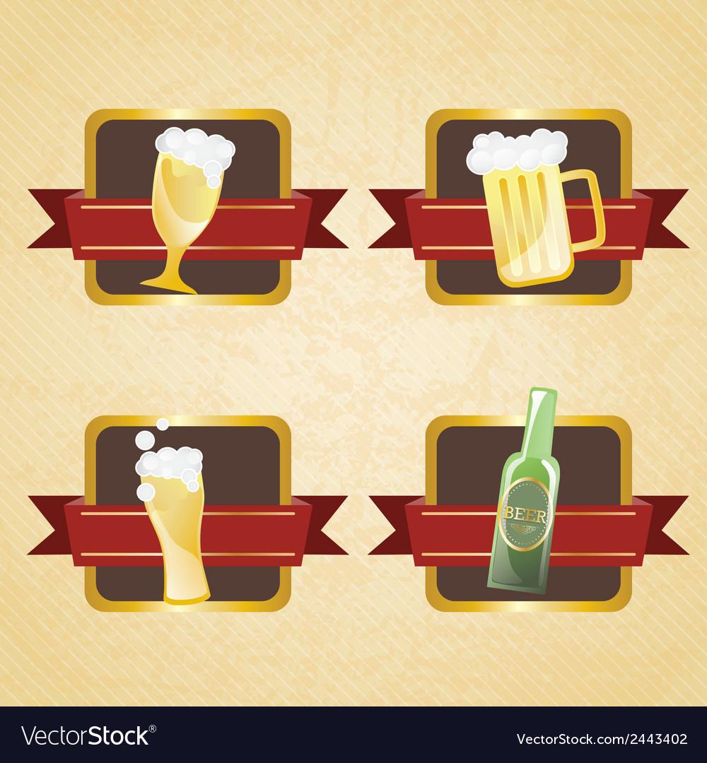 Bar labels vector