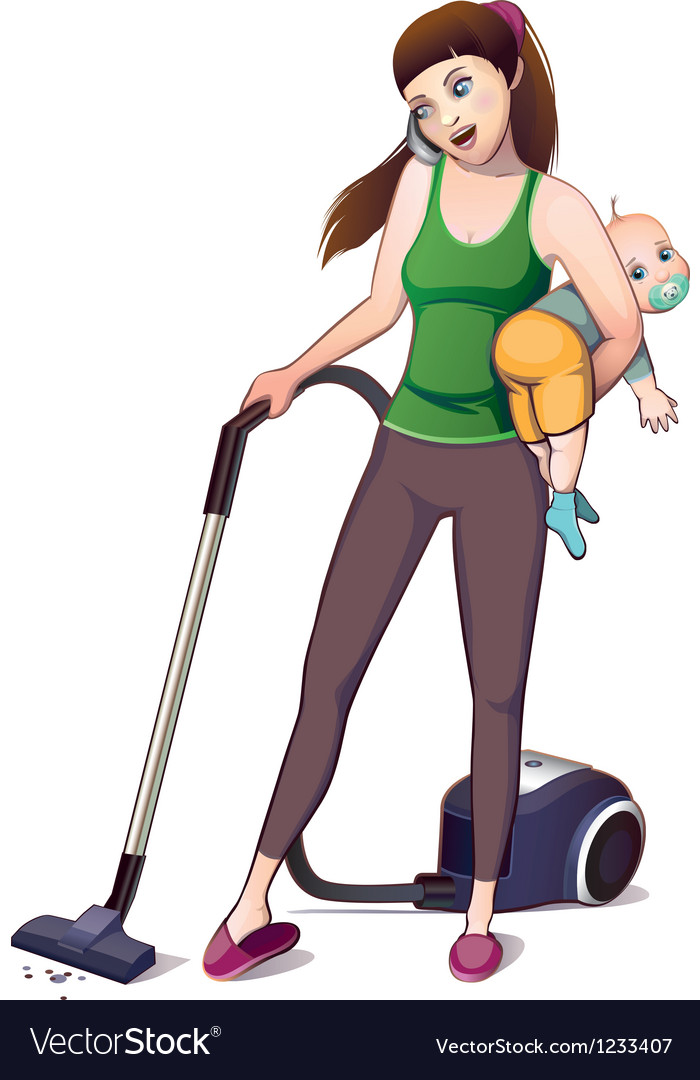 Mother removed vector
