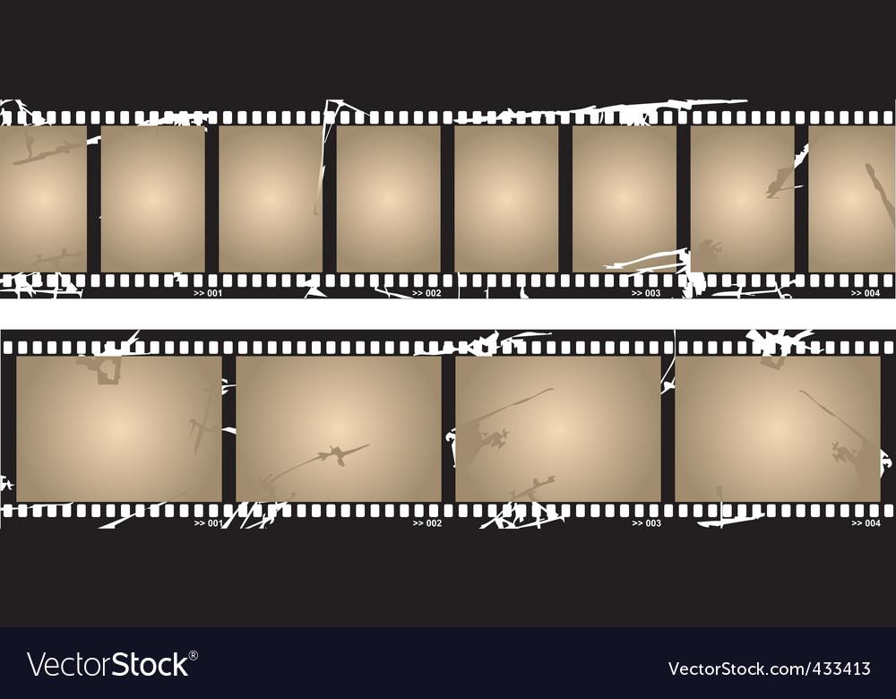 Movie reel vector