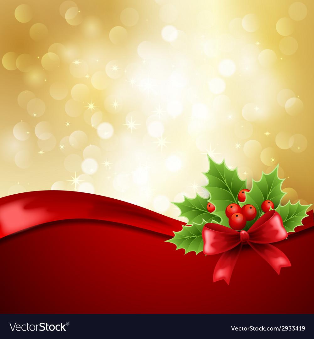 Christmas greeting vector