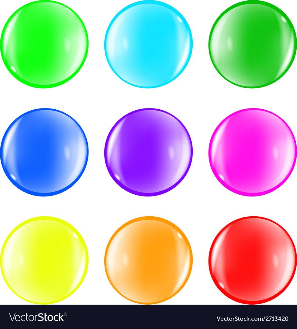 Ball color fun vector