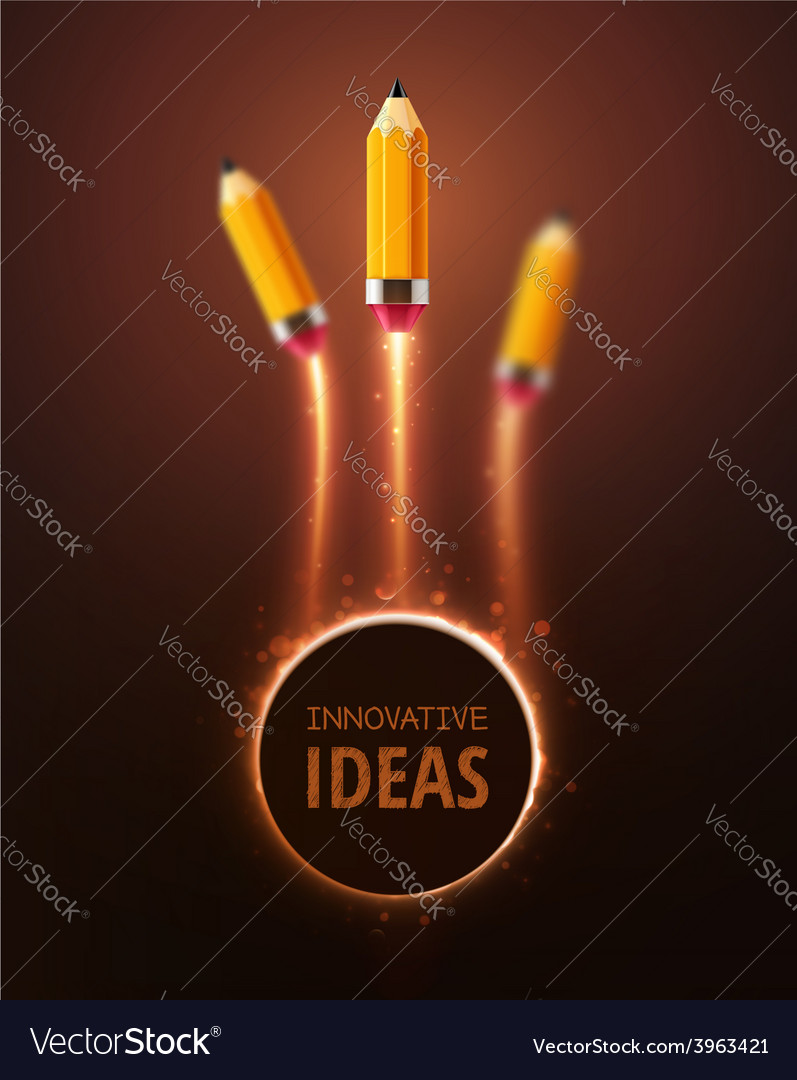 Innovative ideas vector