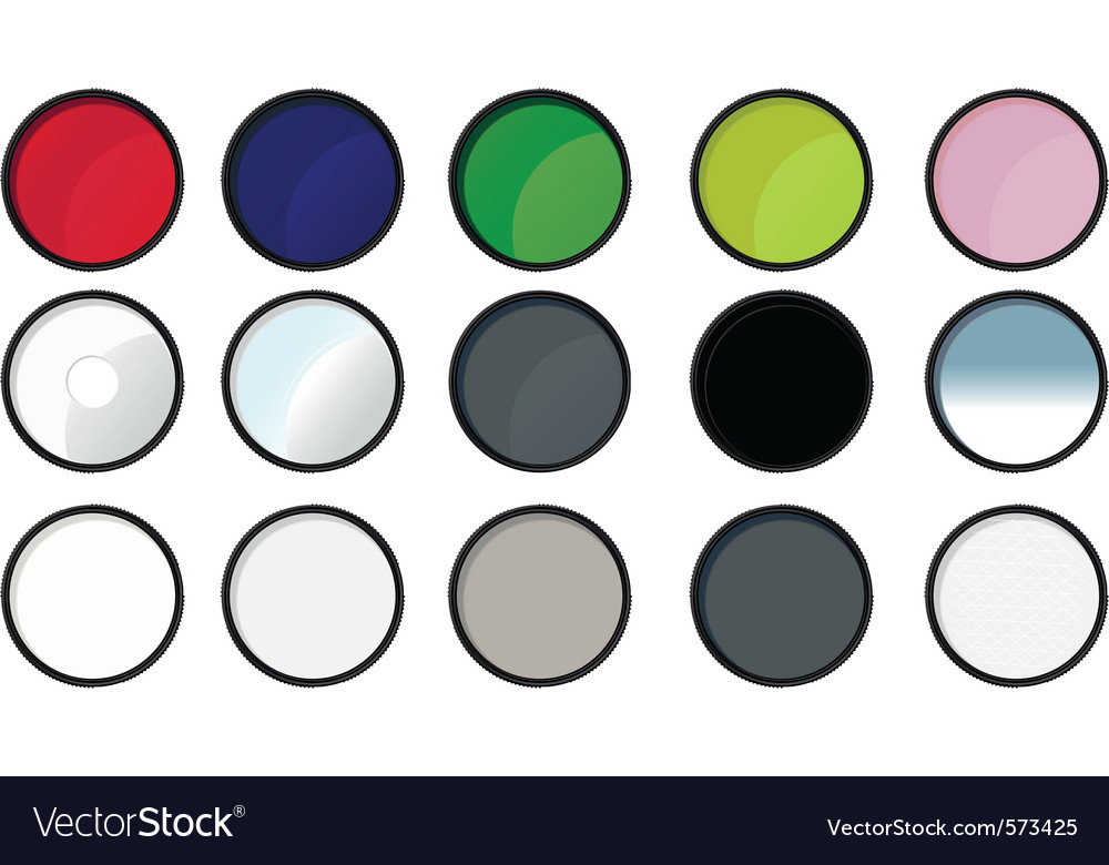 Paint tin icons vector