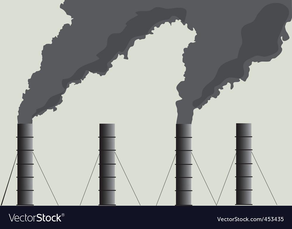Pipe smoke vector