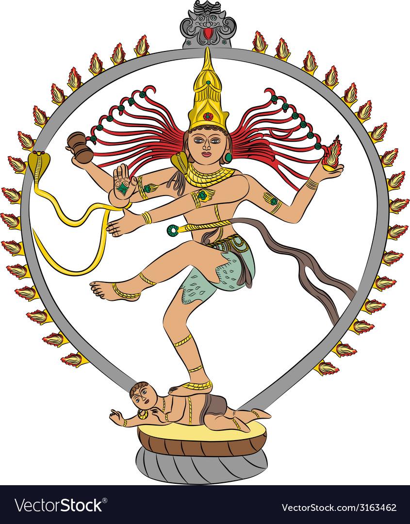 Goddess kali vector