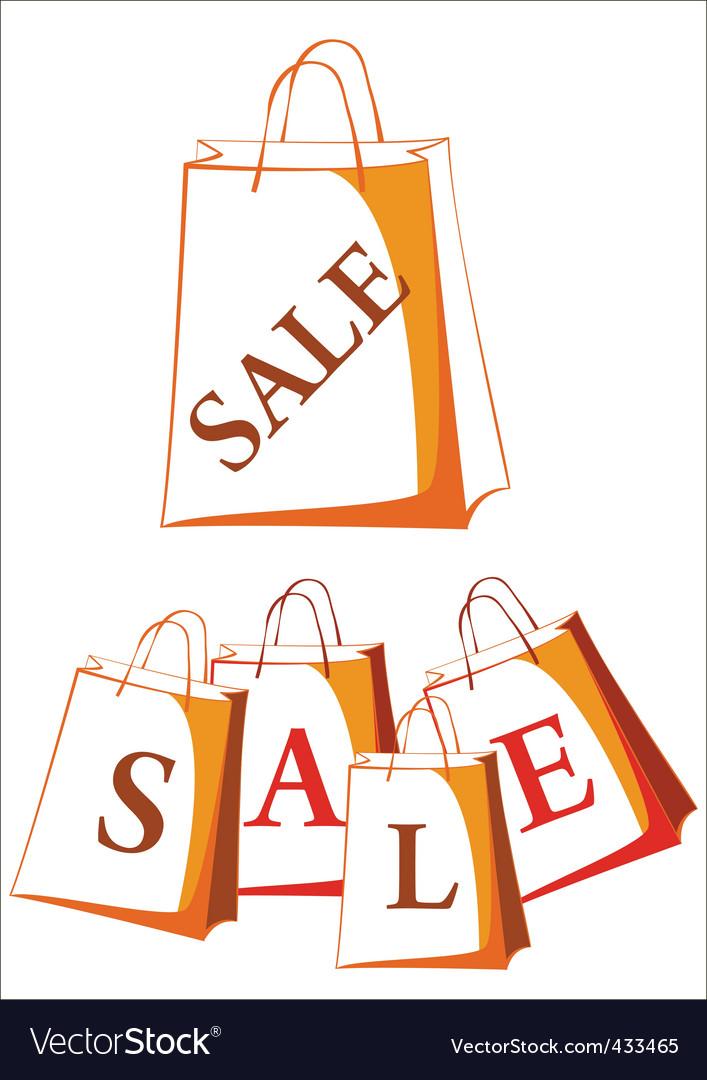Sale package vector