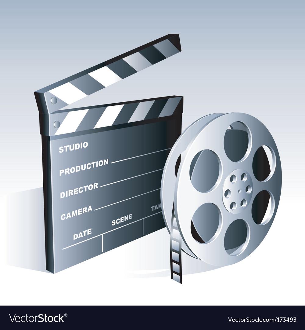 Movie symbols vector