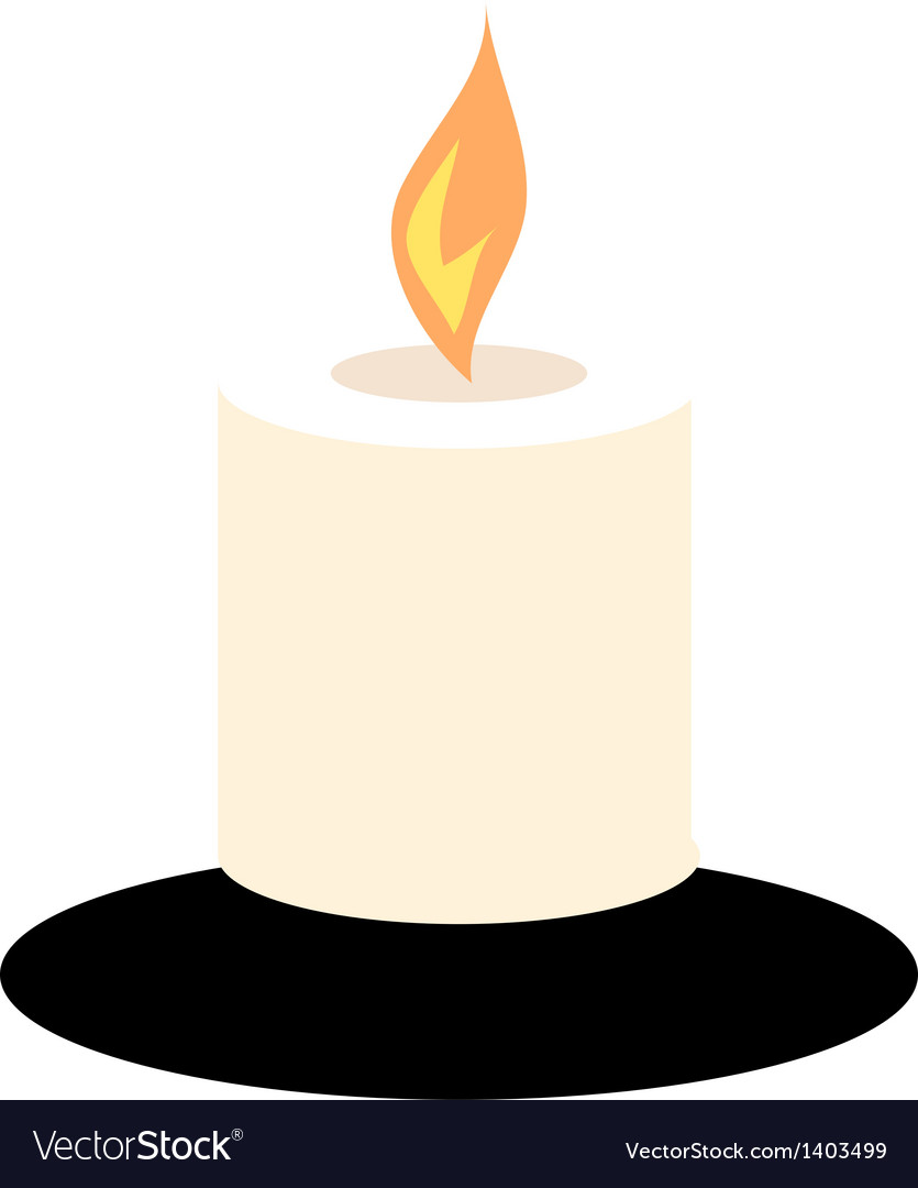 A candle vector
