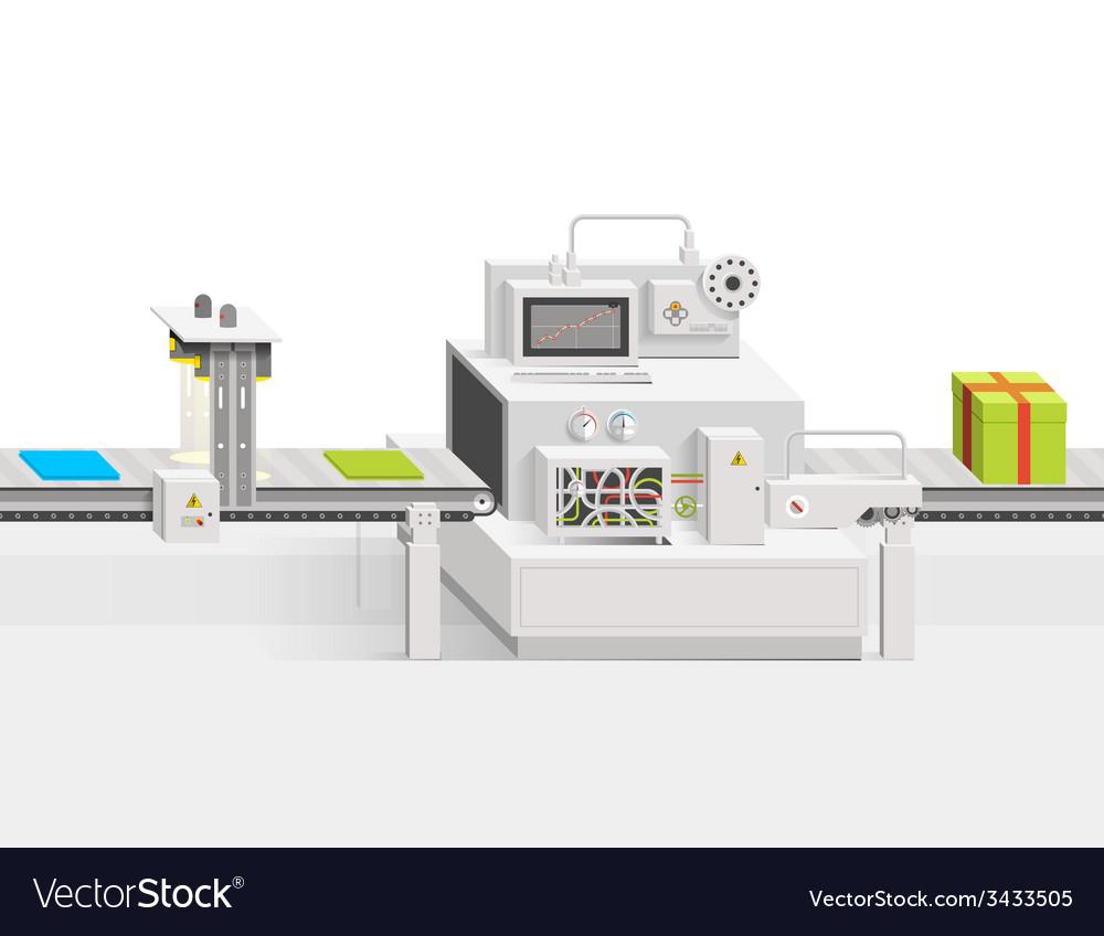 Conveyor production vector