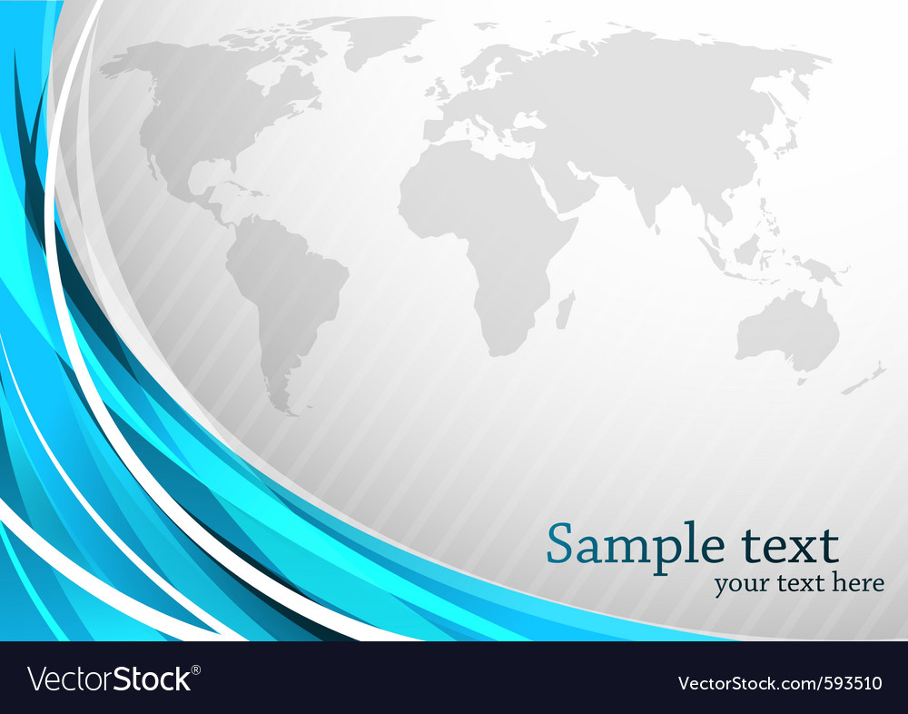Geography map vector