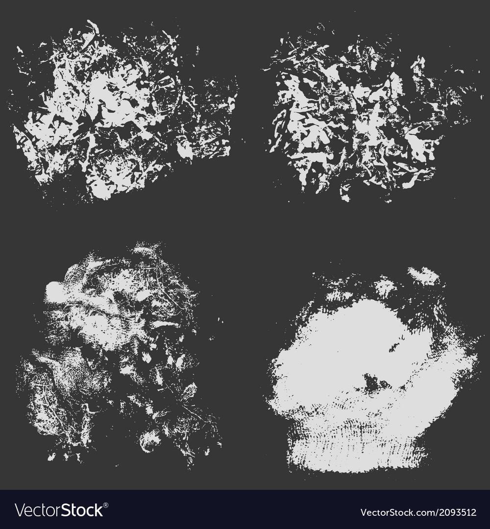 Rough hatching grunge texture background vector