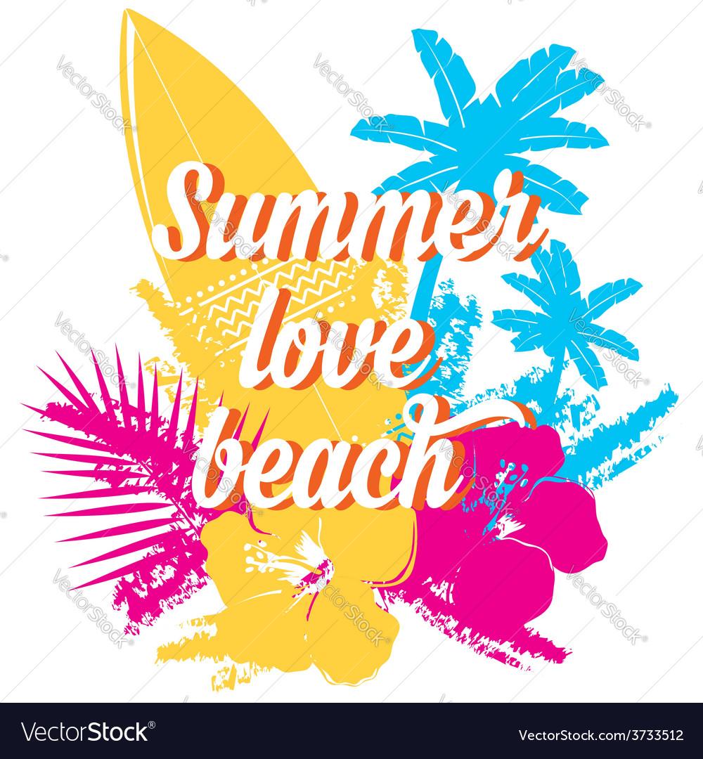 Surf summer icon design label vector