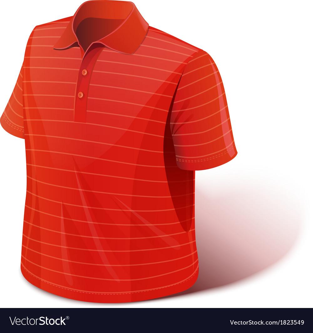 T-shirt sports wear vector