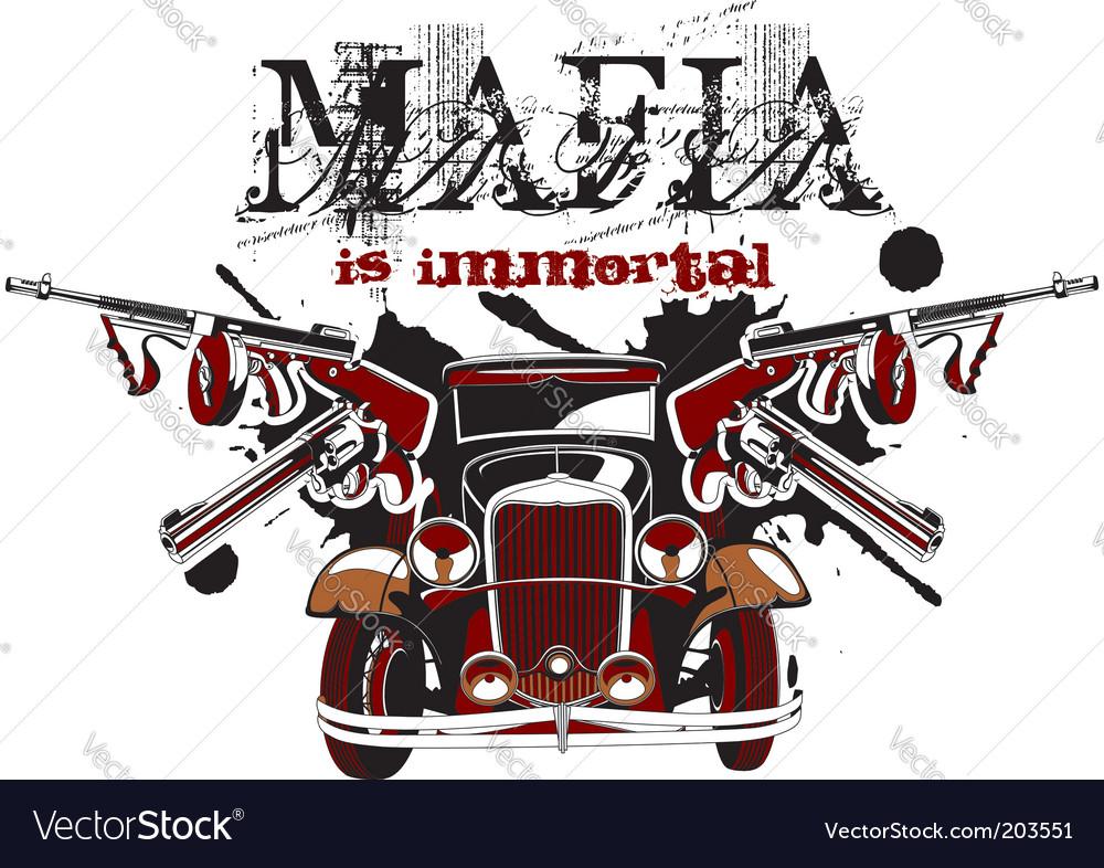 Mafia is immortal vector