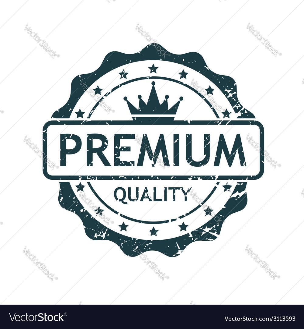 Premium grunge stamp vector
