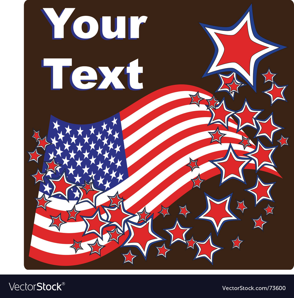 American stars vector