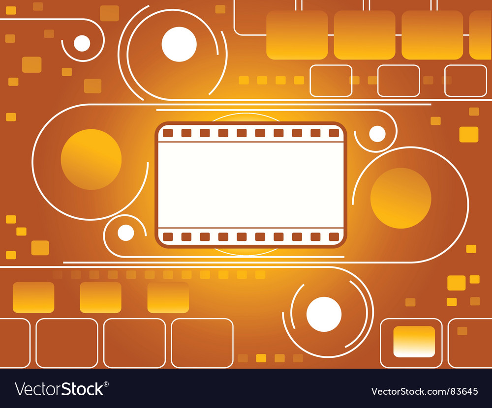 Filmstrip background vector