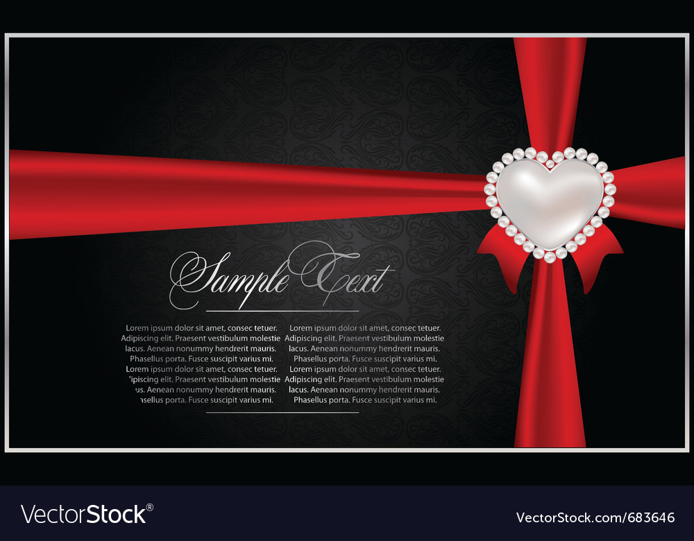 Abstract greeting card vector